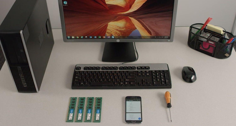 Arbeitsspeicher Desktop