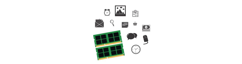 Computer-Teile und soziale Symbole