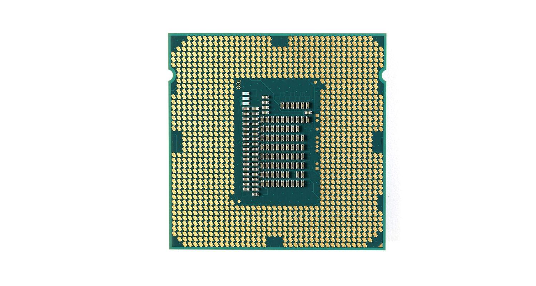 Prozessor (CPU) eines Computers.
