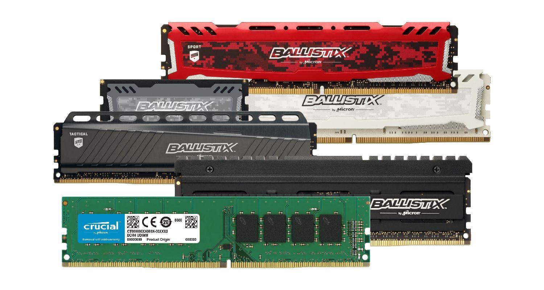 Crucial Arbeitsspeicher (RAM) für Gaming.