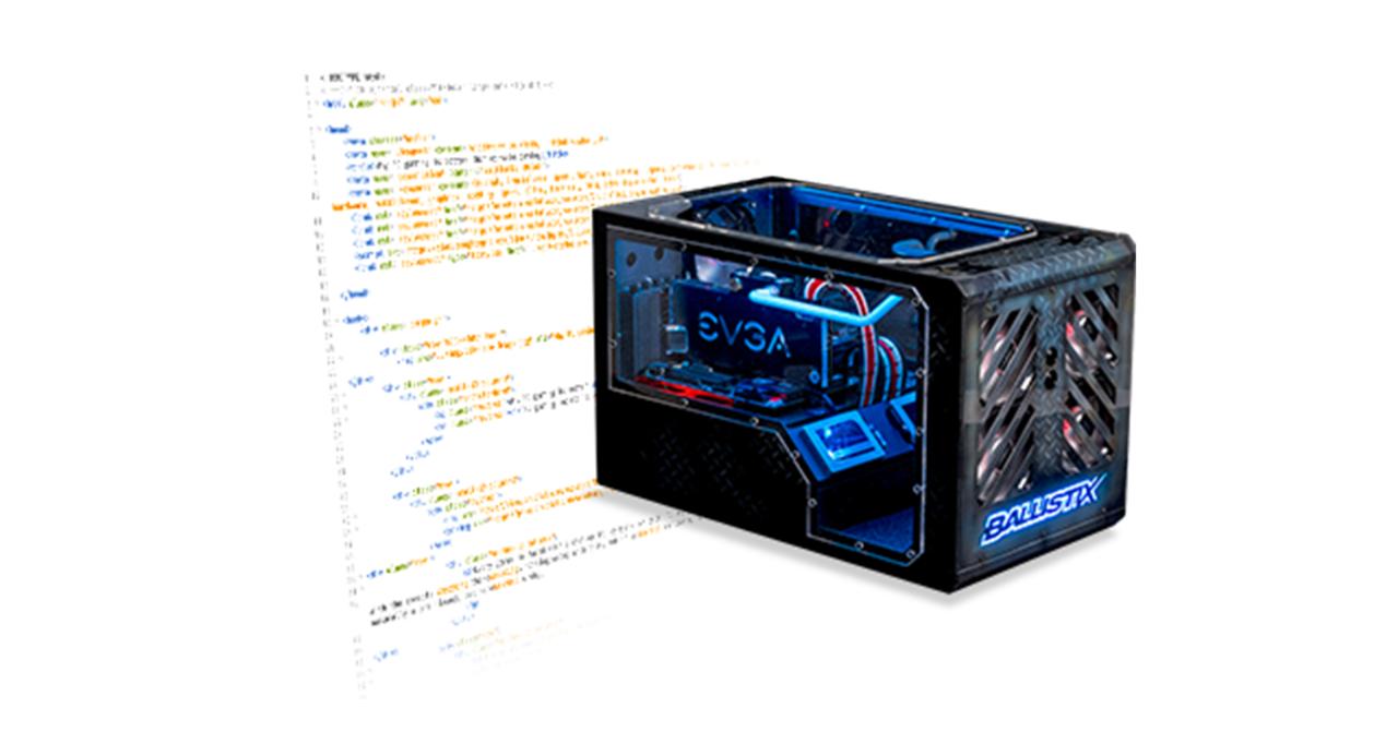 Modifizierter Gaming-Computer