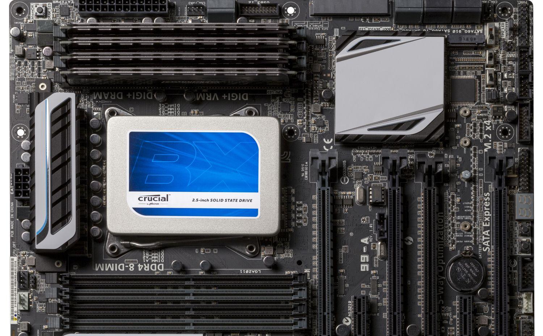 So installieren Sie eine Solid State Drive (SSD) von Crucial in einen Computer