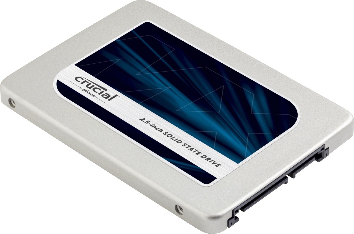 Eine Crucial Solid State Drive.